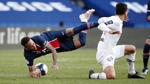 Lille-PSG: primeiro troféu da época em França em discussão