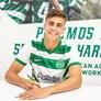 Afonso Moreira assinou contrato profissional pelo Sporting