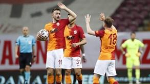Galatasaray-St. Johnstone: duelo da 3.ª pré-eliminatória da Liga Europa