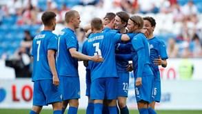 Islândia-Roménia: vencer é (quase) obrigatório
