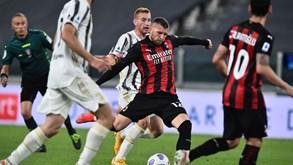 Juventus-Milan: 'Vecchia Signora' à procura da primeira vitória na Serie A