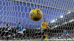 Udinese-Nápoles: golos em perspetiva