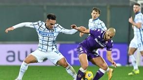 Fiorentina-Inter de Milão: histórico favorável aos milaneses