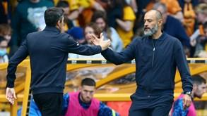 Wolves-Tottenham: Bruno Lage e Nuno Espírito Santo frente a frente