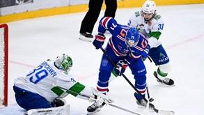 Podolsk Vityaz-São Petersburgo: embate entre equipas da Conferência Oeste da KHL