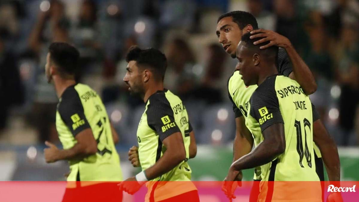 Belenenses-Sporting, 0-2 (section 2): Tiago Tomás Restelo – twice in the Cup of Portugal